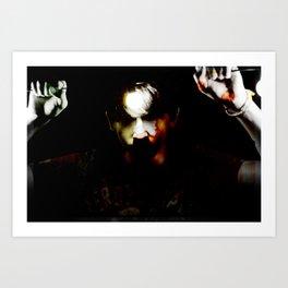 Torment1 Art Print