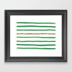 Sparkle Stripe II Framed Art Print