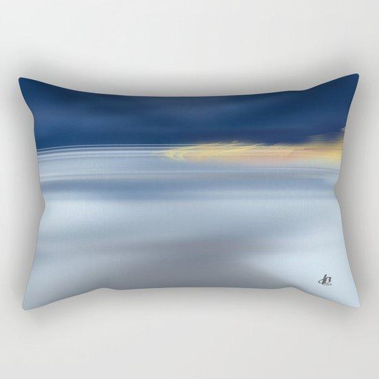 Midnight Sea Rectangular Pillow
