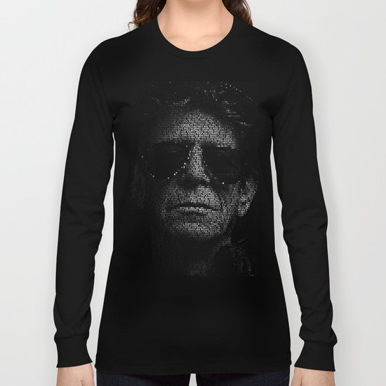 LOU REED, SO FREE. Long Sleeve T-shirt