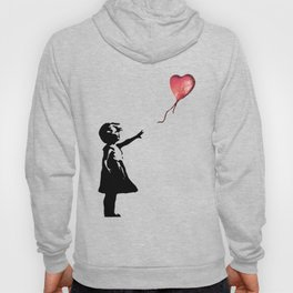 Banksy cosmic balloon Hoody
