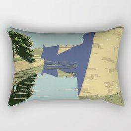 Fort Marion National Monument, St. Augustine, Florida Rectangular Pillow