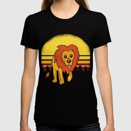 Lion Motif T-shirt