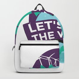 green energy quote  Backpack