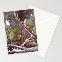 In The Jungle Florida 1904 By WinslowHomer | Reproduction Stationery Cards
