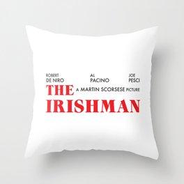 The Irishman Throw Pillow