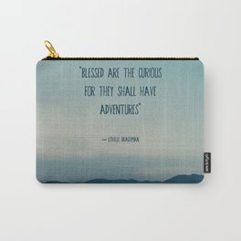 blessed are the curious ... Carry-All Pouch
