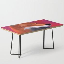 Fox Painting Coffee Table
