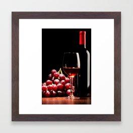 WINE 3 Framed Art Print