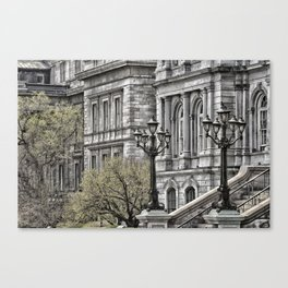 Hammer Fall Canvas Print