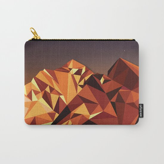 Night Mountains No. 7 Carry-All Pouch
