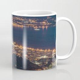 Breathtaking landscape at evening Coffee Mug