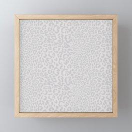 Snow Leopard Print Framed Mini Art Print