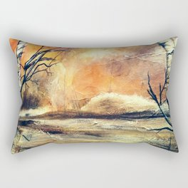 View from the lake Rectangular Pillow