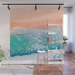 Waves 2 Wall Mural