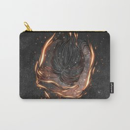 The burning of spirit.  Carry-All Pouch
