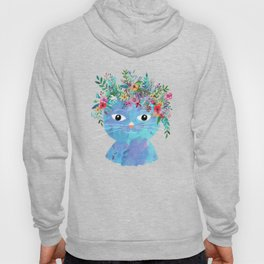 Flower cat II Hoody