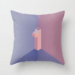 Alphabet Drop Caps Series- 1 Throw Pillow