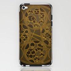Tick-Tock Poem in Circular Gallifreyan iPhone & iPod Skin