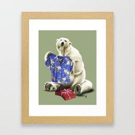 Cool! (Colour) Framed Art Print