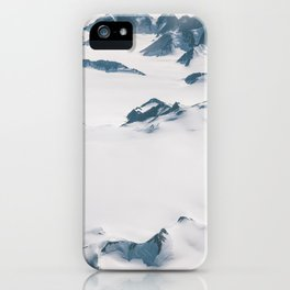 the mountains of Madness II - Greenland iPhone Case