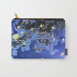 Hong Kong on the radar map Carry-All Pouch
