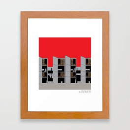Salk Institute Kahn Modern Architecture Framed Art Print