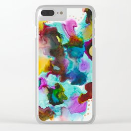 Ink 107 Clear iPhone Case
