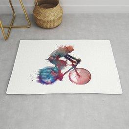 cyclist 1 #sport #cyclist Rug