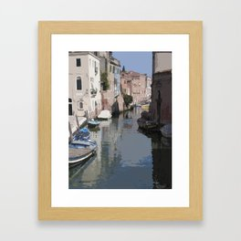 Venecia Framed Art Print