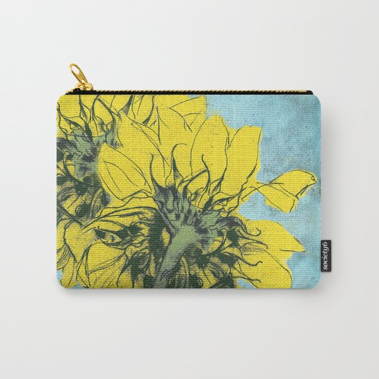 The sunflowers moment Carry-All Pouch