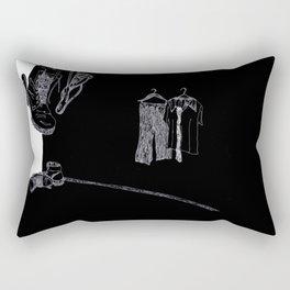 The Emperor's New Clothes Rectangular Pillow