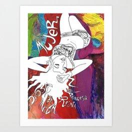 Mujer Art Print