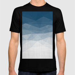 Imperial Topaz - Geometric Triangles Minimalism T-shirt