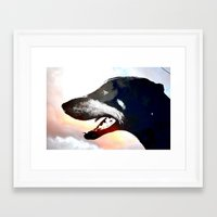 caleb troy Framed Art Prints featuring Troy by Jake Stanton