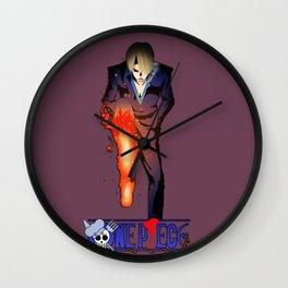 Sanji the Cooker - One Piece Wall Clock