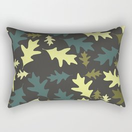 Oak Leaves Two Rectangular Pillow