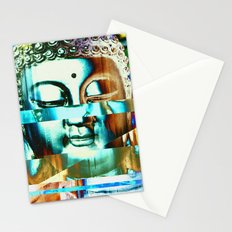 Glitch Buddha #3 Stationery Cards