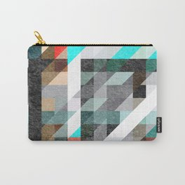 Digitally Textured Carry-All Pouch