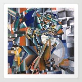 Kazimir Malevich, The Knife Grinder Art Print