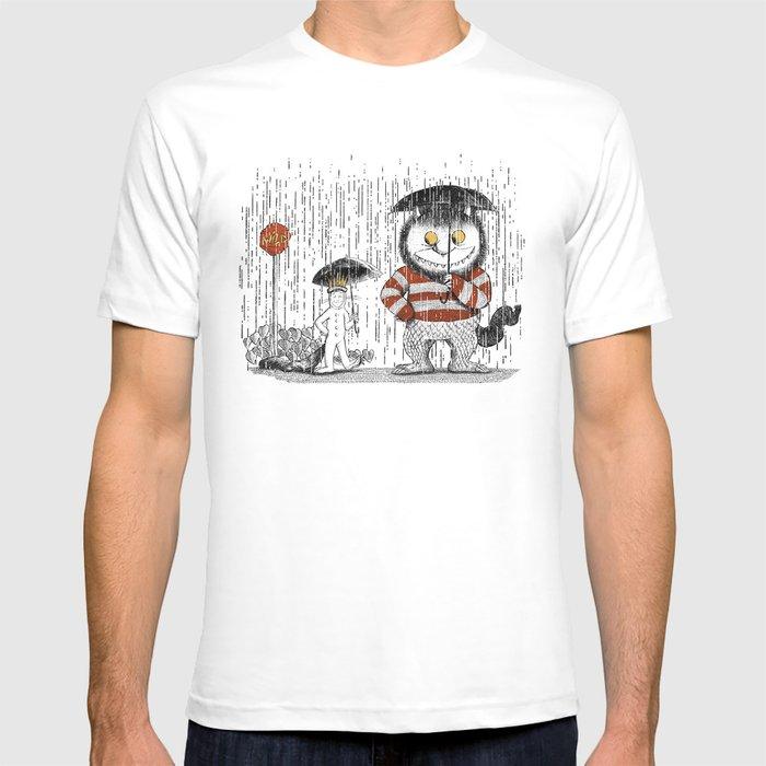 Where the totoro live T-shirt