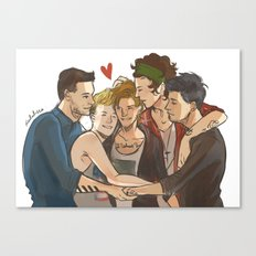 Everyone Loves Louis Canvas Print