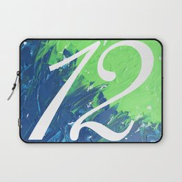 Blue & Green, 12, No. 3 Laptop Sleeve