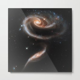 Pair of Galaxies Metal Print