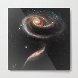 Pair of Galaxies Metal Print