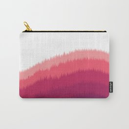 Layered Forest Hills - Purple to Pink Carry-All Pouch