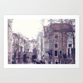 European City View Art Print