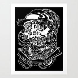 DJ Hardkore Art Print