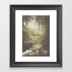 The paths we wander III Framed Art Print