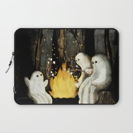 Marshmallows and ghost stories Laptop Sleeve